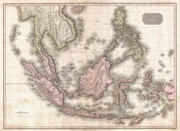 1818_Pinkerton_Map_of_the_East_Indies_and_Southeast_Asia_(Singapore,_Borneo,_Java,_Sumatra,_Thailand_-_Geographicus_-_EastIndiaIslands-pinkerton-1818