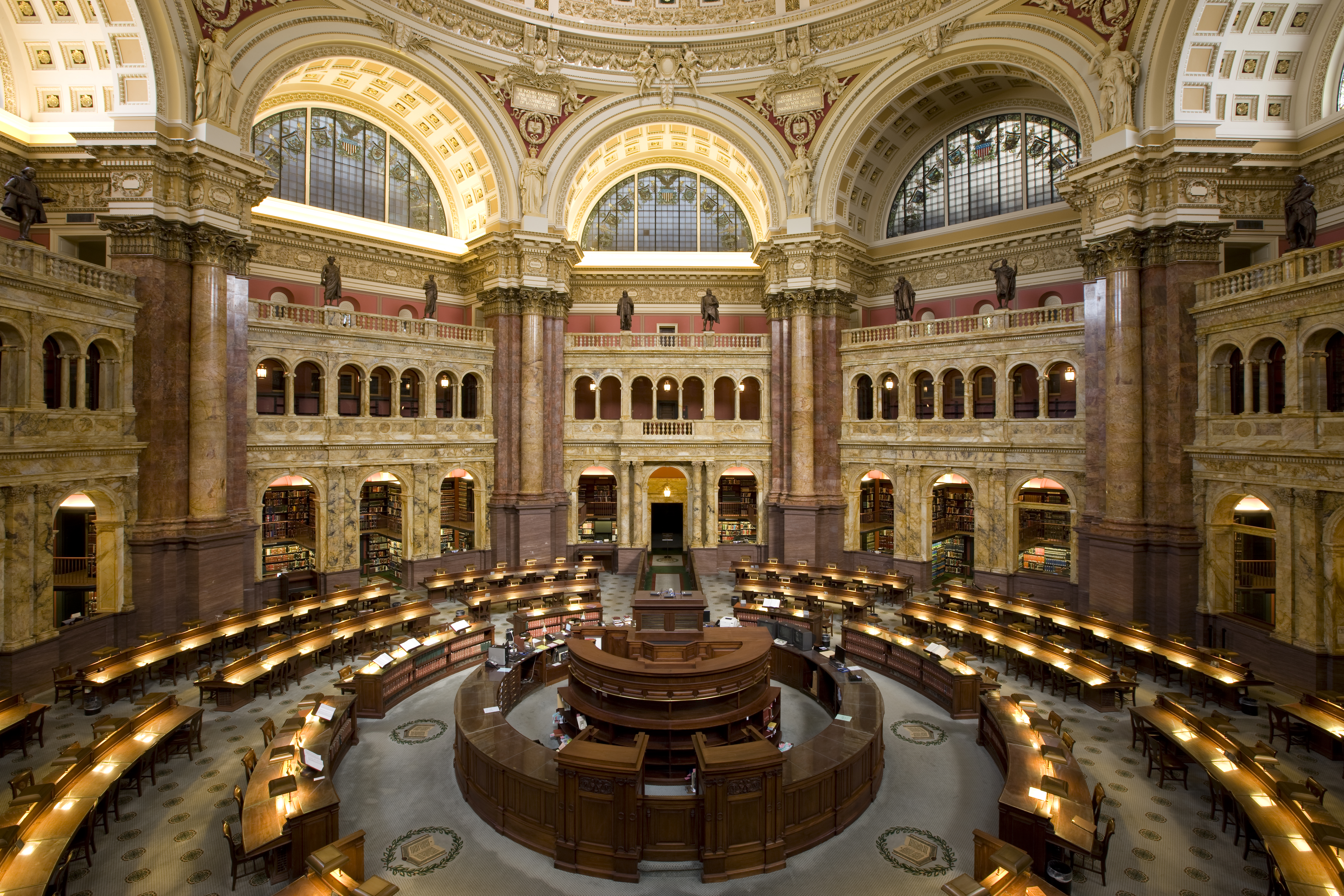 Library of Congress Main Reading Room