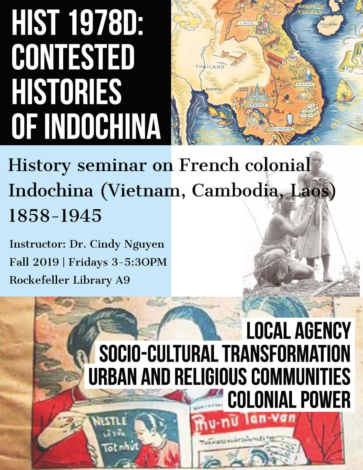 [SYLLABUS] Contested Histories of ColonialIndochina