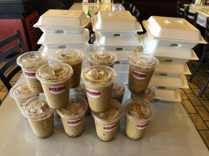 Special Order of Vietnamese Coffee to fuel these frontline workers!